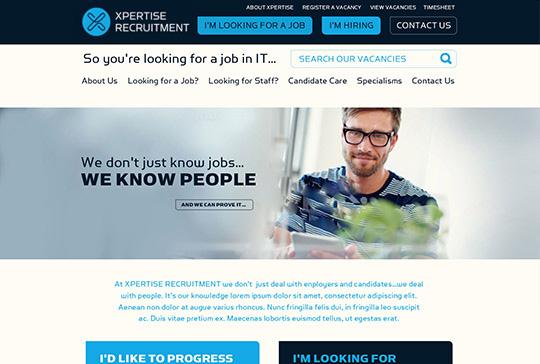 recruitment-website-xpertise